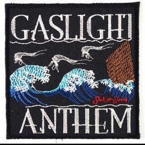 The Gaslight Anthem patch band iron on punk DIY